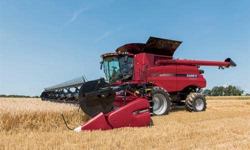 Axial Flow Combine : Axial flow combine harvesters case ih
