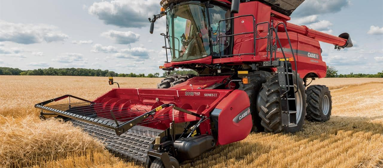 Axial-Flow Combine Harvesters | Case IH
