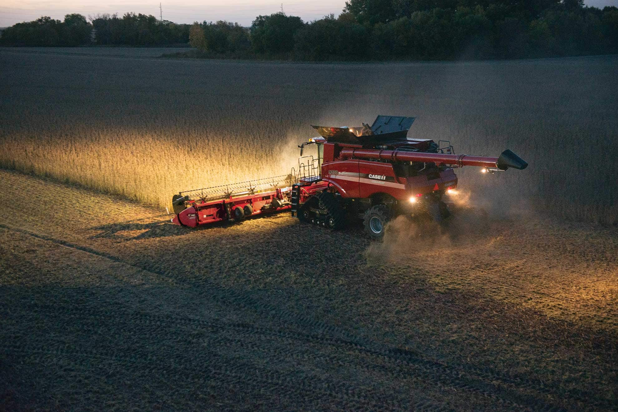 Axial Flow Combine : Case ih axial flow gets global approval news