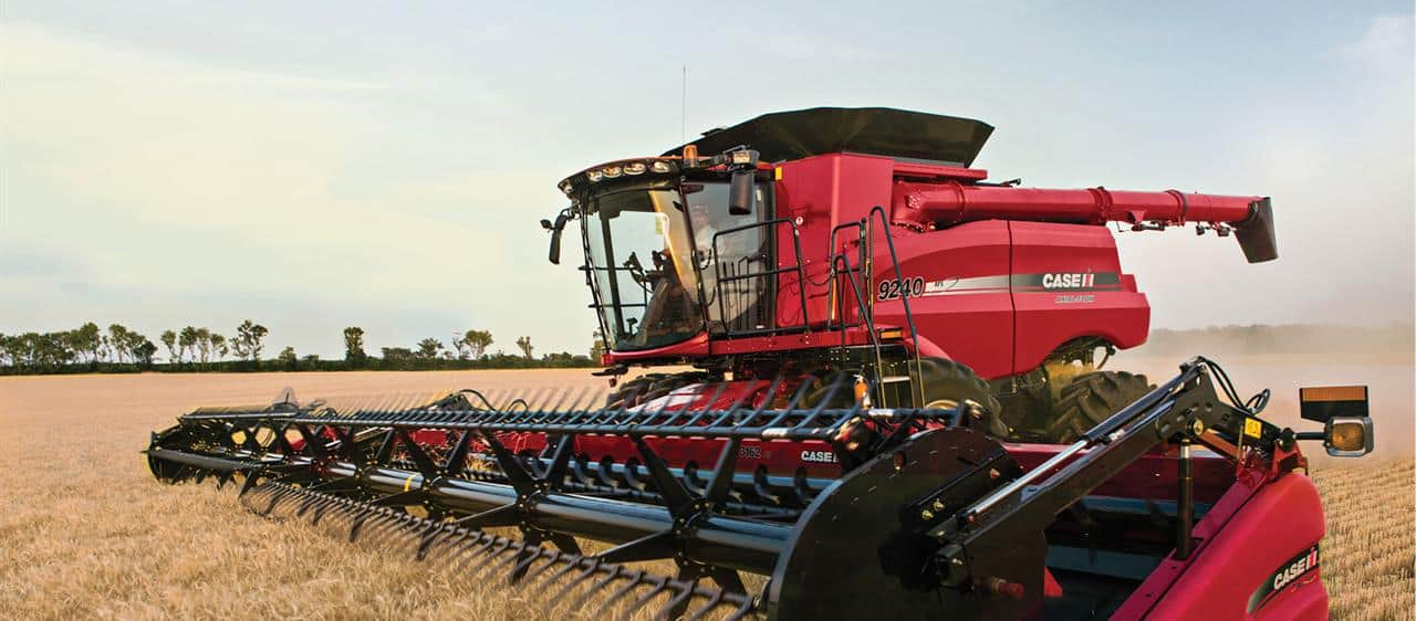 Combine Parts Of The Slideshow : Axial flow combine harvesters case ih
