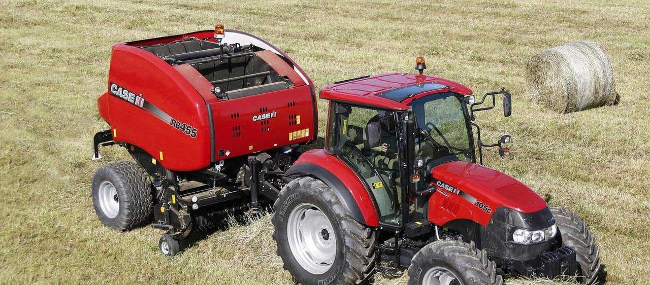 Case IH round baler tackles the toughest crop conditions