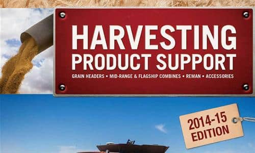 Harvest Product Support Catalogue