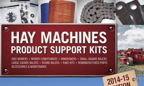 Hay Machines Product Support Catalogue