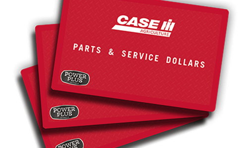 Up to $3,000 Parts & Service Reward Dollars