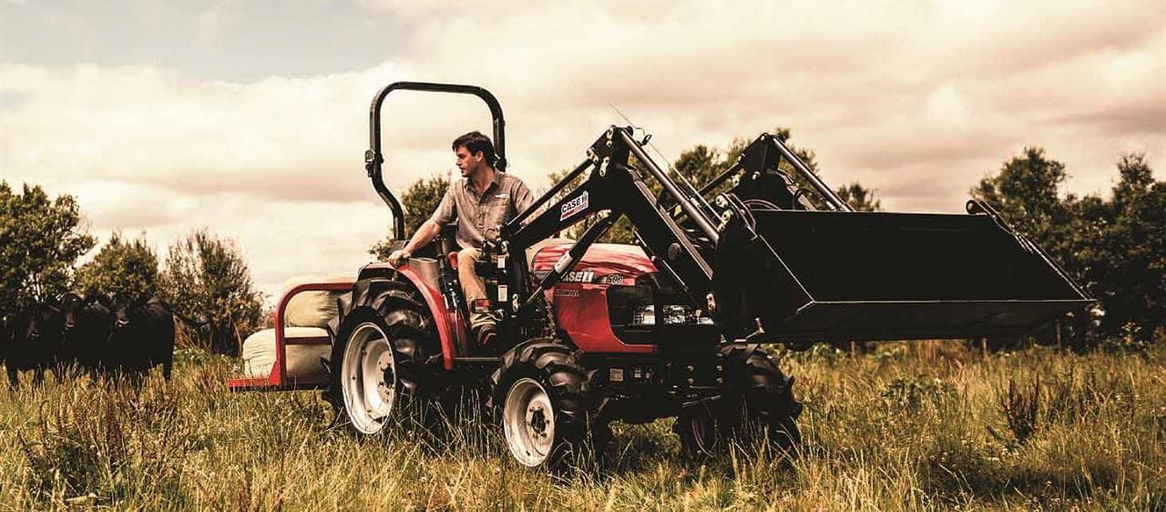 Widest Seat Tractors : Farmall b series compact tractors case ih