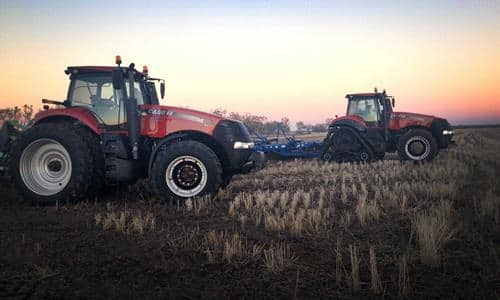 A new era in farming: the Magnum family of tractors