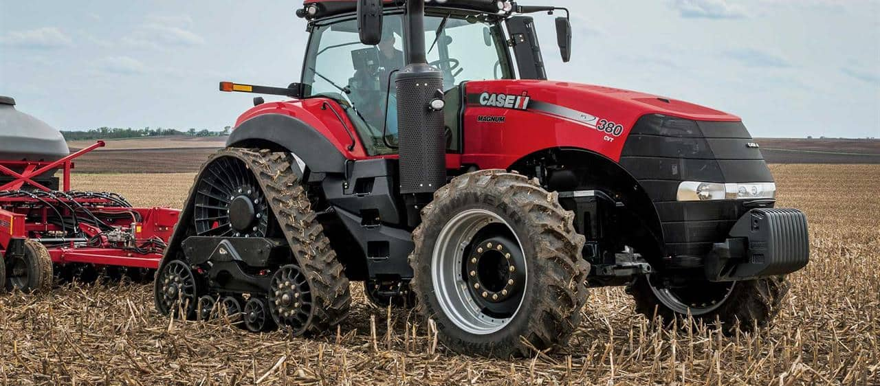 Case IH extends its track-technology leadership with new Magnum Rowtrac