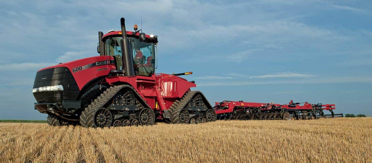 History shows Case IH solid tracks of innovation