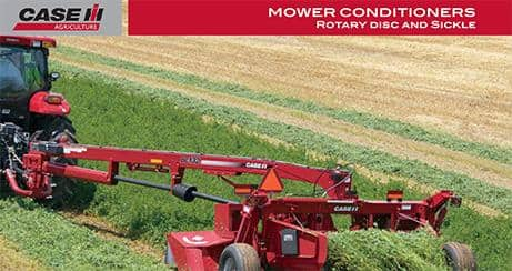 Rotary Disc & Sickle Mower Conditioners