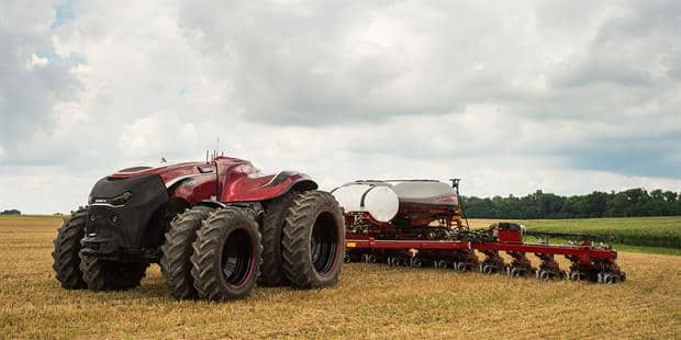 Case IH Premieres Concept Vehicle at Farm Progress Show