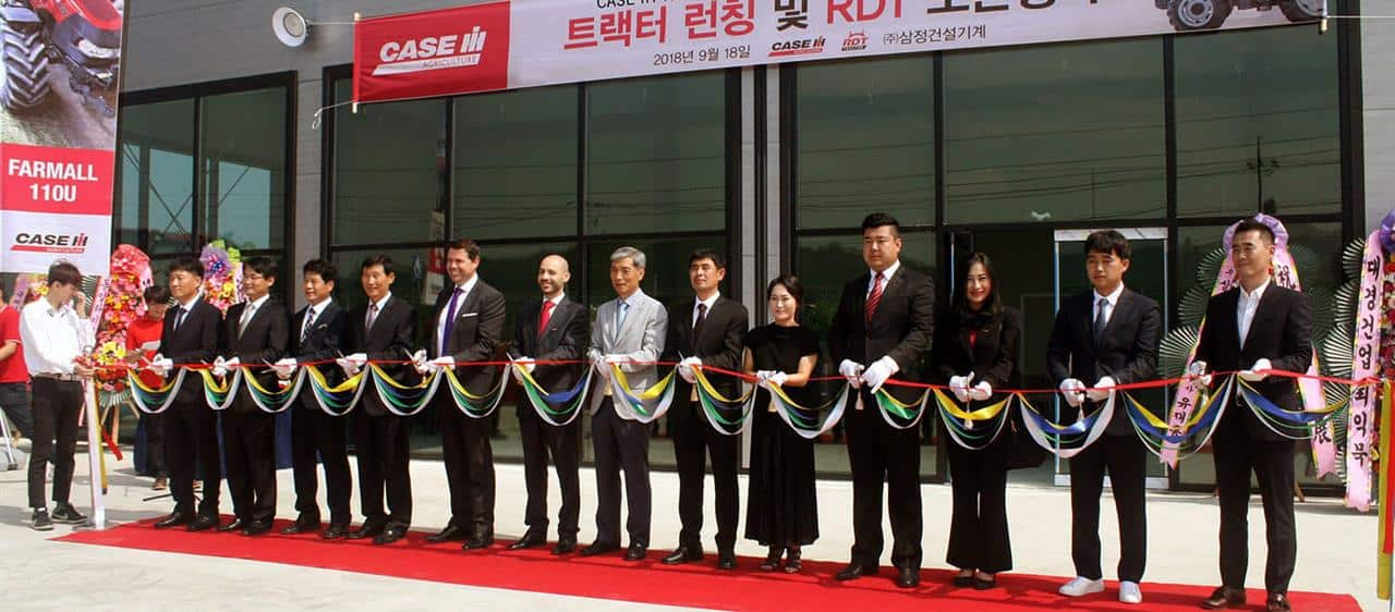 Case IH extends its dealership for South Korea and unveils two new tractors