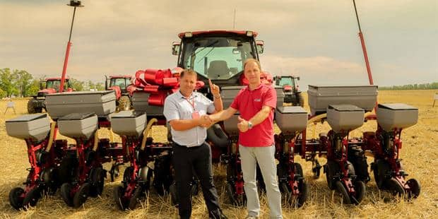 Spirit of the Cossacks shines through Case IH machinery field day