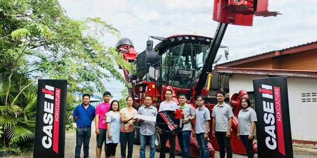Case IH delivers Sugarcane Harvester fleet to Mitr Phol Sugar's farmers in Thailand