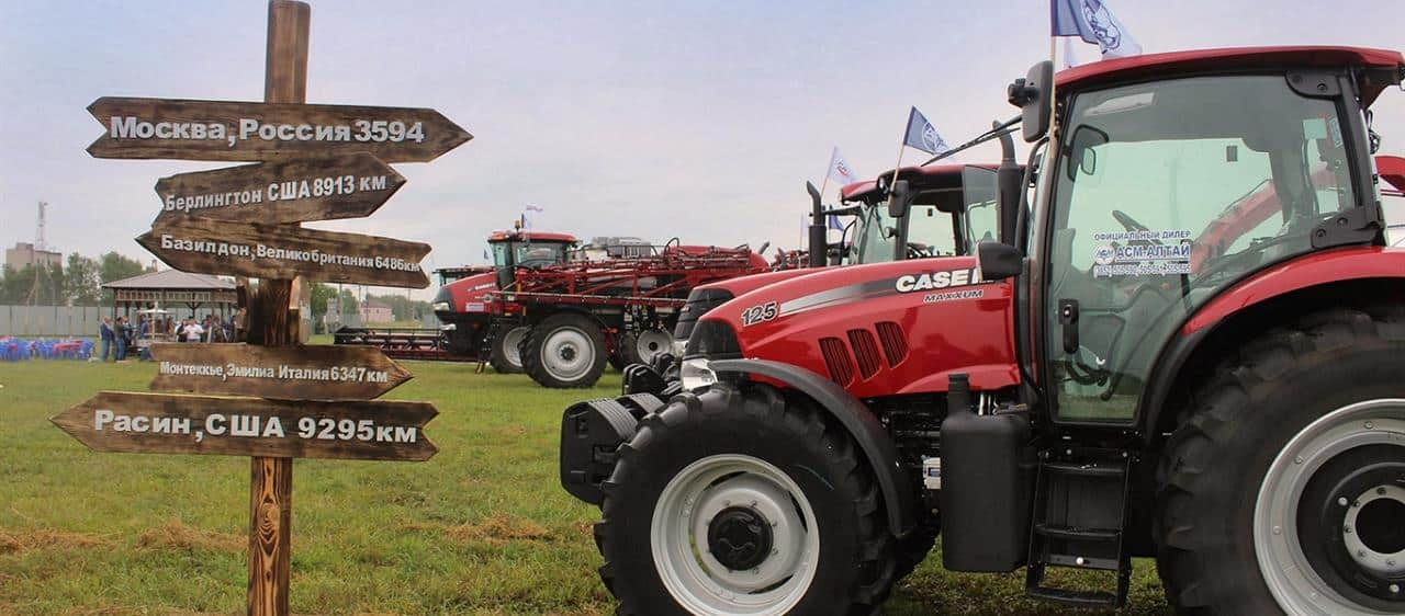 Case IH showcases its latest farm technologies at Field Day in Siberia