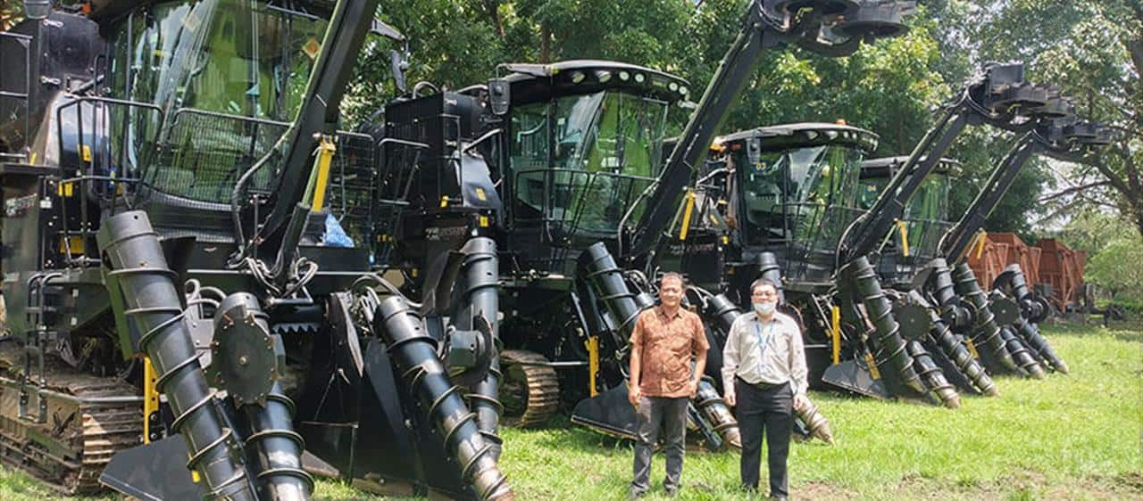 Austoft cane harvesters solve labour shortage issues in Indonesia