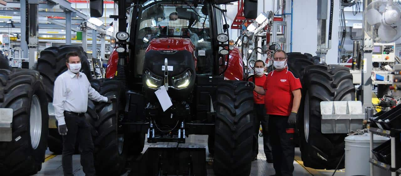 Prestigious award for Case IH factory in St Valentin, Austria