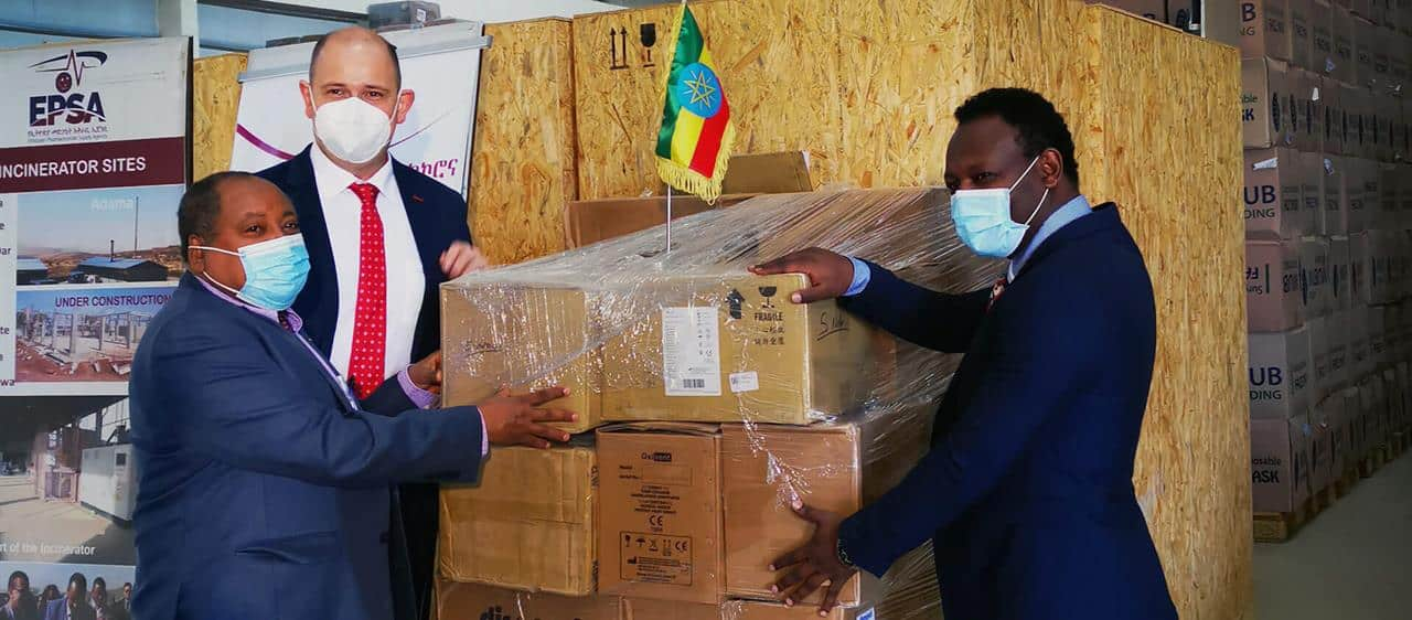 Case IH donates life-saving medical equipment to Ethiopian Ministry of Health