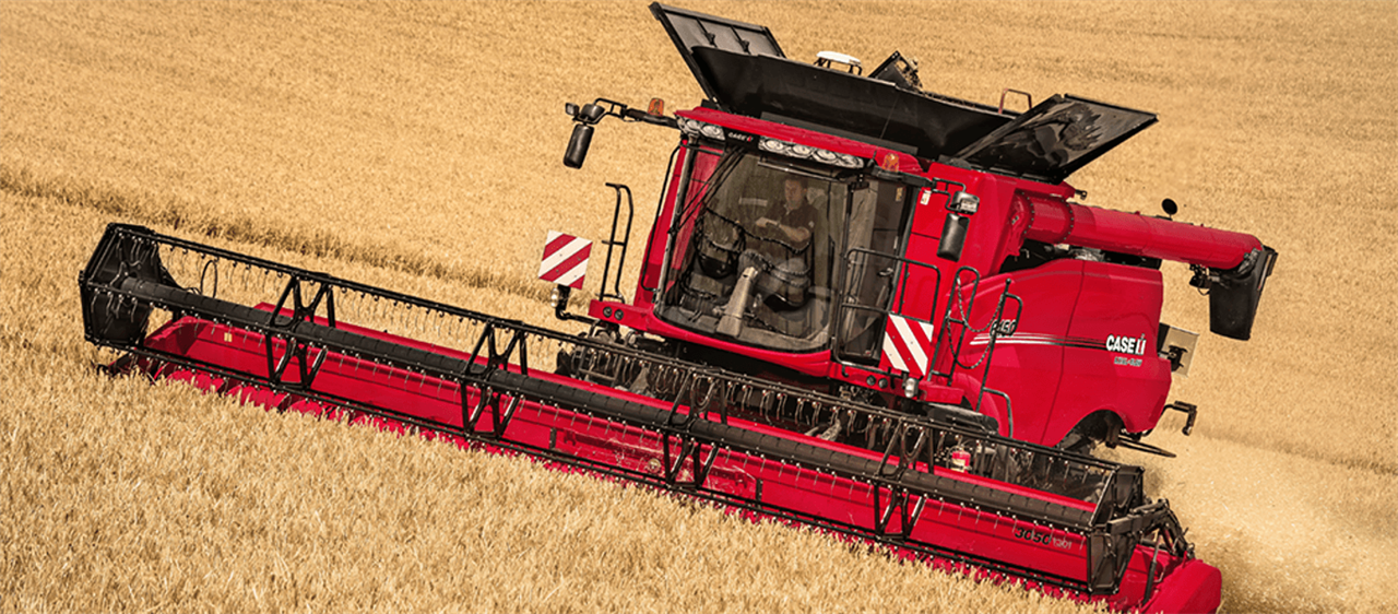 Case IH presents updated Axial-Flow 150 Series combines in Russia