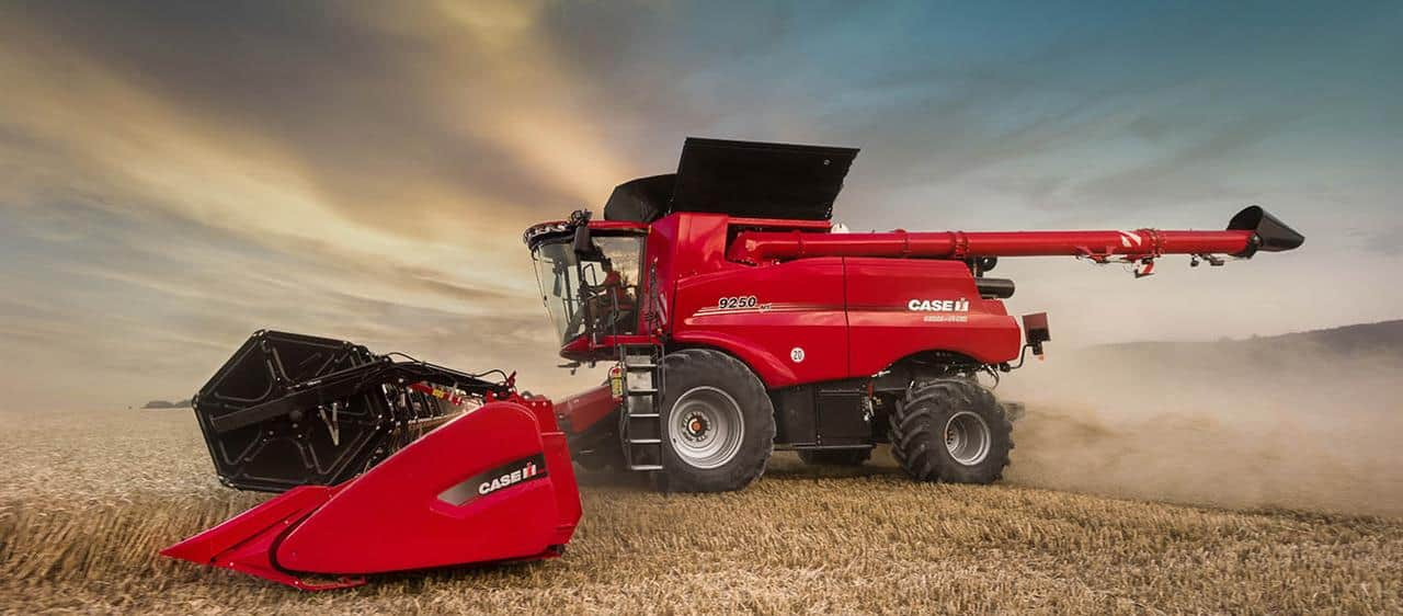 Productivity boosted as Case IH launches Axial-Flow 250 Series combines