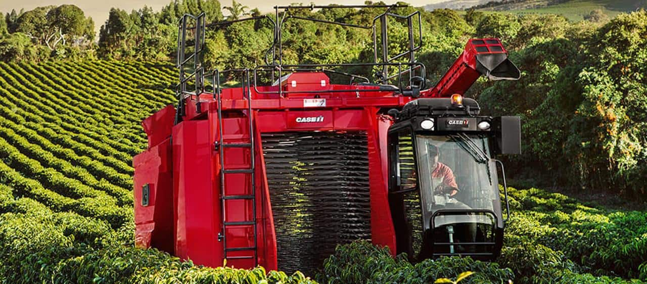 World-leading coffee harvesting technology comes to South East Asia with the Case IH Coffee Express