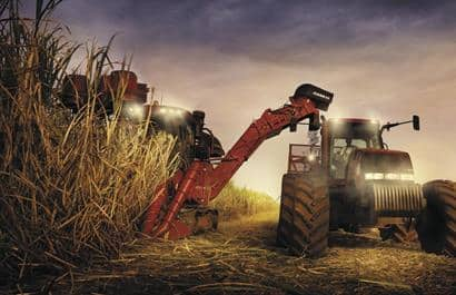 Sugar Cane Harvester 8000 Series-Faster harvesting, including in high agricultural yield areas