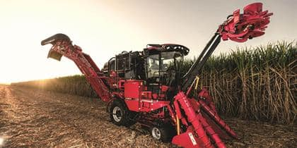 Austoft 8010 and 8810 sugarcane harvesters