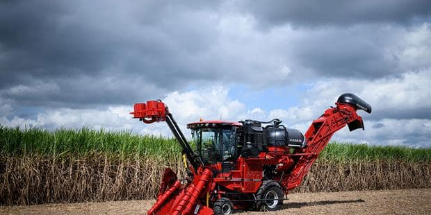 Austoft 8010 and 8810 sugar cane harvesters