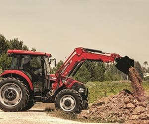 Farmall JX-High-Capacity hydraulics and PTO