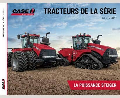 Steiger Series Tractors Brochure (French)
