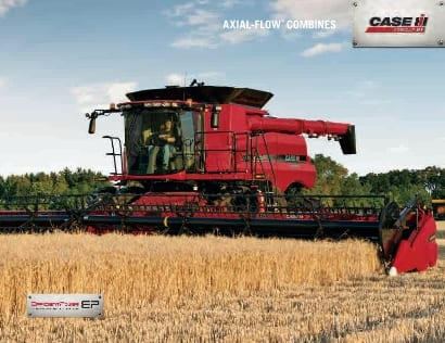 140 and 230 Series Axial-Flow Combines