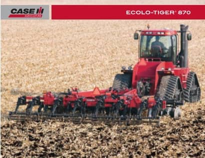 Ecolo-Tiger 870 Disk Ripper Brochure