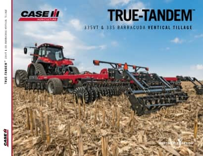 True-Tandem 335VT & 335 Barracuda Brochure