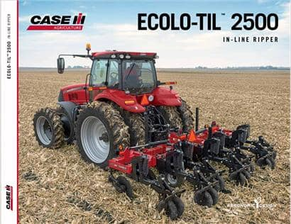 Ecolo-Til 2500 In-Line Ripper Brochure