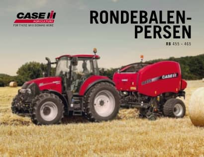 Ronde balenpers RB 455/465 Serie