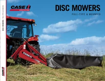 Disc Mowers Pull Type and Mounted Brochure