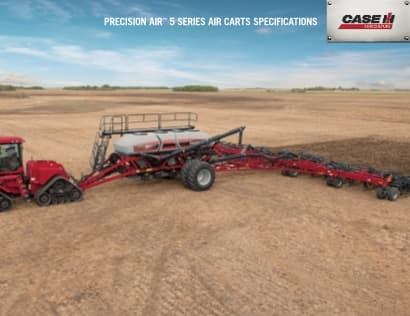Precision Air 5 Series Air Cart Spec Sheet