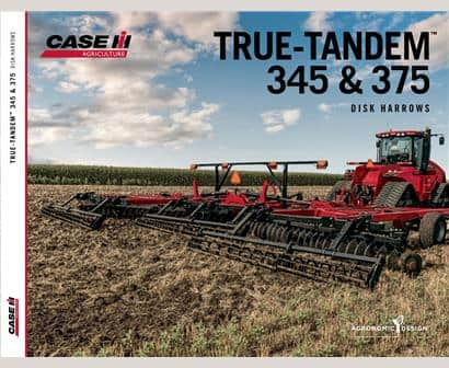 True Tandem 345 and 375 Disk Harrows Brochure