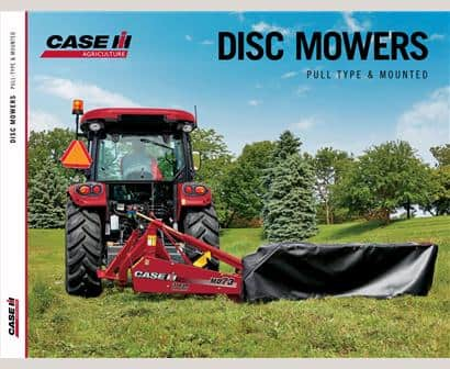Rotary Disc Mowers | Hay Cutters | Case IH