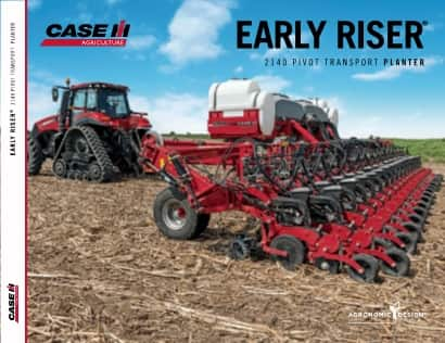 2140 Early Riser Pivot Fold Planter Brochure