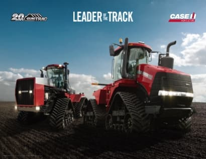 Steiger Quadtrac - Leader of The Track Poster
