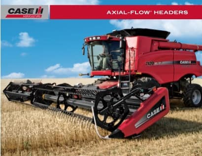 Axial-Flow Headers