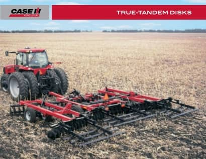 True-Tandem 340 and 370 Disk Harrows Brochure
