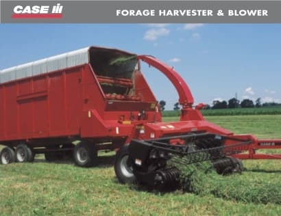 Forage Harvester and Blower Brochure