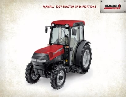 Farmall V Spec Sheet