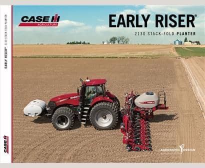 Early Riser 2130 Stack Fold Planter Brochure