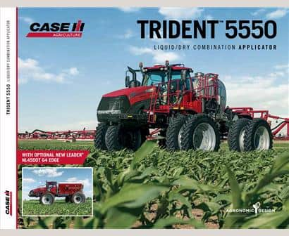 Trident 5550 Liquid/Dry Combination Applicator Brochure