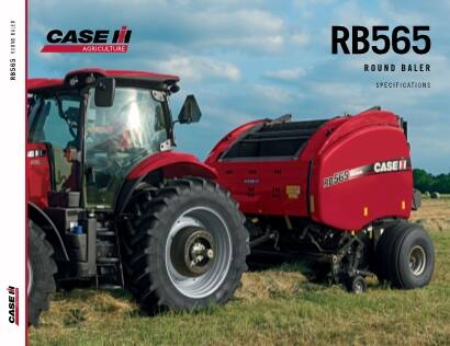 RB565 Round Baler Spec Sheet
