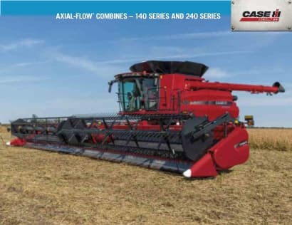 140 and 240 Series Axial-Flow Combines