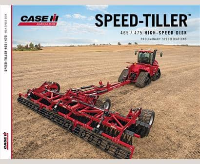 Speed-Tiller 465/475 High-Speed Disk