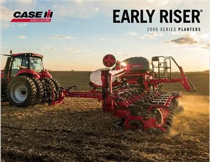 2000 Series Early Riser Planter Brochure